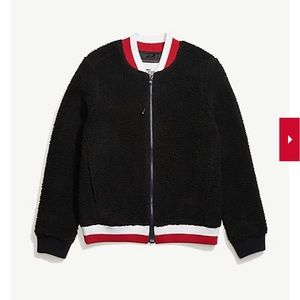 TOMMY HILFIGER ZIP-UP SHERPA JACKET